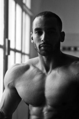 Ryan John-Baptiste Team scitec bodybuilder werk photography fotózás documentary dokumentarista branded content testépítő